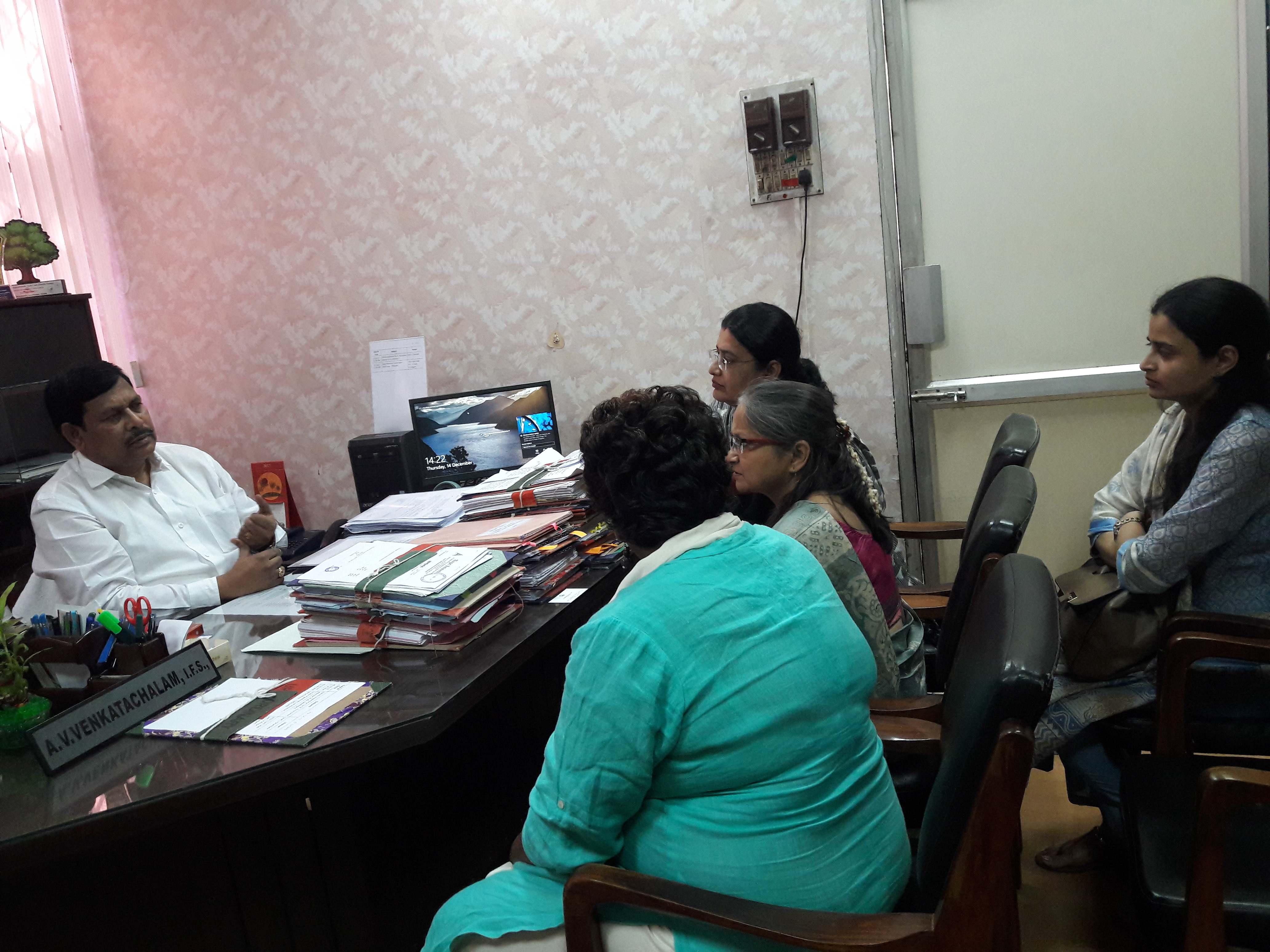 MoEF&CC officials visit
